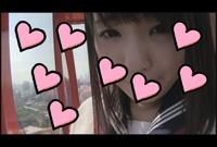 【素人動画】ロリ顔な女の子と遊園地露出デート