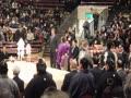 大相撲一月場所「土俵祭」@両国国技館