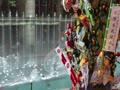 博多祇園山笠と噴水